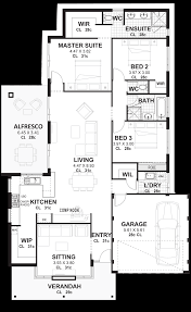 3 bedroom house plans u0026 designs perth vision one homes