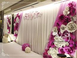 wedding backdrop flowers 2015 trends on a budget i do paper flowers