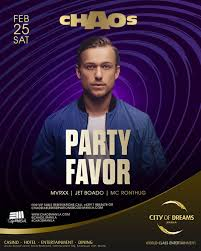 Dj Favor by Chaos 2 Year Anniversary With Dj Favor Manila Clubbing