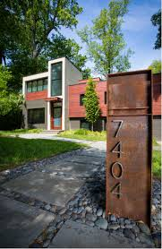 outdoor perfect addition to your yard with contemporary mailboxes