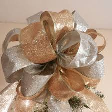 christmas tree bow topper best christmas tree bow topper products on wanelo