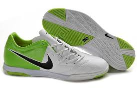Nike T90 nike t90 shoot iv indoor jnr boots white green nike soccer cleats