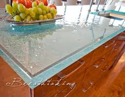 Kitchen Countertop Material by Best 25 Recycled Glass Countertops Ideas On Pinterest Beach