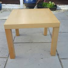 ikea coffee table used size 55cm x 55cm table top height 45cm