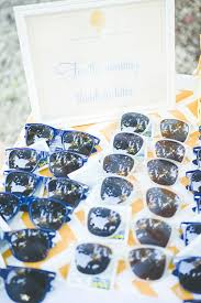 sunglasses wedding favors 16 destination inspired wedding favors creative wedding favor