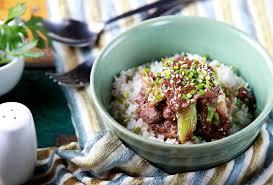 cuisine japonaise les bases recette yakiniku don bol de boeuf japonais