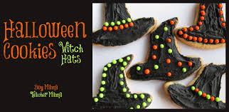 boy mama halloween cookies witch hats boy mama teacher mama