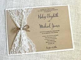 vintage wedding invites wedding lace invitations simplo co