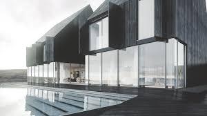 coastal house icelandic coastal house