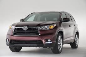 crossover toyota toyota officially unwraps all new 2014 highlander crossover with