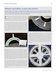 aircraft wheels and brakes a paint job solution