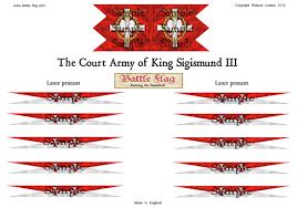 15mm renaissance polish battle flag