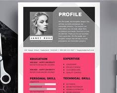 Creative Resume Template Word Professional And Modern Resume Template For Word Creative Resume