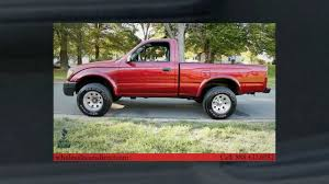 1998 toyota tacoma for sale regular cab 4x4 youtube