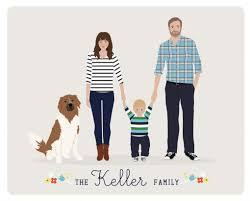 cool options for custom family portraits