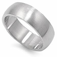 stainless steel rings for men oxford diamond co solid 8mm stainless steel ring sizes 5 13