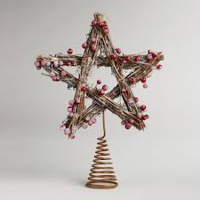 accessories ornaments with tree topper