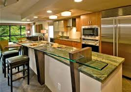 bi level kitchen ideas two level kitchen island two level kitchen island split level
