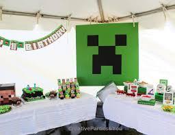 minecraft birthday supplies minecraft birthday minecraft themed birthday party catch my