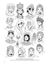 anglo saxons hair stiels anglo saxon 600 1154 headdresses historical fashion pinterest