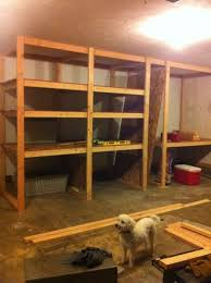 Basement Wood Shelves Plans by Best 25 Garage Storage Units Ideas On Pinterest Garage Shelving