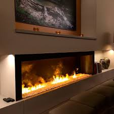 Electric Fireplace With Mantel Electric Fireplace With Mantel And Multicolor Stone Facade