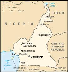 map of cameroon cameroon map