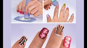 nail art stamping kit by saloon express getit pk youtube