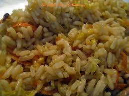 cuisiner du riz blanc recette de riz sauté aux choux nappa