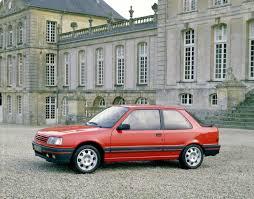 peugeot 309 gti u00271986 u201389 autoescala motor autos clásicos y