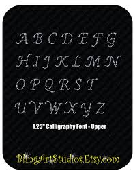 rhinestone letter stickers rhinestone decal 1 25 alphabet decals rhinestone letter