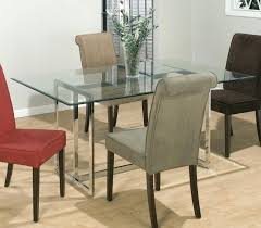 rectangle glass dining room table trendy inspiration rectangle glass dining table small room