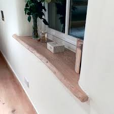 davanzali interni in legno mensole e top in legno massello mensola in castagno massello