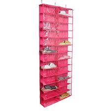 hanging shoe caddy 24 pockets hang shoes storage behind door shoe organiser rack