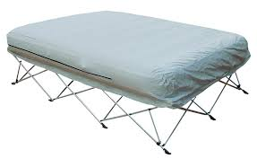 Air Bed With Frame Kiwi Cing Portable Airbed Frame And Airbed