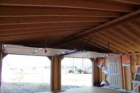 Double Car Garage by 24x24 Double Car Garage Pine Creek Structures