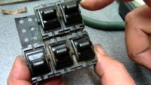 1995 jeep cherokee power window switch repair youtube