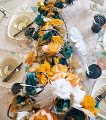 diy tablescape by julia u0027s poppies design ruffled