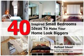 40 inspired small bedrooms ideas to make your home look bigger