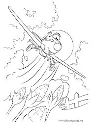 dusty crophopper coloring pages coloring