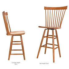 country windsor counter bar chair vermont woods studios