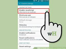 3 ways to enable javascript on an android phone - How To Enable Javascript On Android