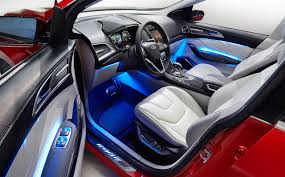 Car Interior Lighting Ideas Ford Edge Concept 2013 Cartype