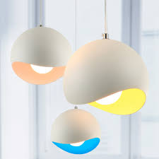 multi colored hanging lights aliexpress buy new modern art colored pendant lights kitchen for