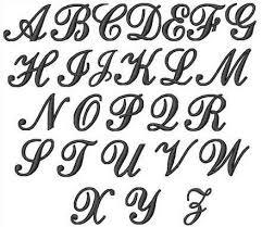 fancy letter designs a z letters exle
