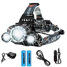 running hat with lights amazon com rechargeable led headl outerdo 8000 lumens super
