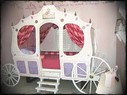 girls princess carriage bed creative ideas rooms to go cinderella bed baby cute disney