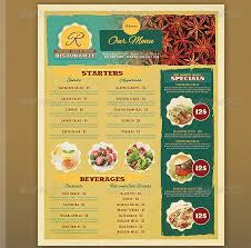 menu template menu template 19 30 restaurant menu templates