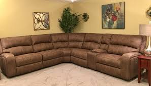 modular sectional with power recliners and power headrest mooradians