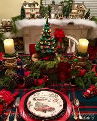 smashing plates tablescapes o christmas tree